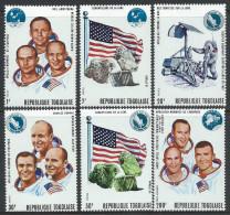 Togo     Moon Landings Of Apollo11 & 12        Set   SC# 741-C135 MNH** - Togo (1960-...)