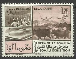 Somalia - 1965 Somali Industries (meat Processing) 25c MNH **        SG 427 - Somalia (1960-...)