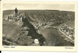GERMANIA  RHEINLAND-PFALZ  COCHEM AN DER MOSEL  Panorama Mit Schloss - Cochem