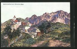 AK Maria-Luschari, Ortsansicht M. D. Steinernen Jäger - Slovenia