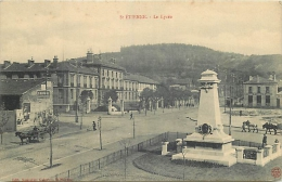 42-104  CPA  SAINT ETIENNE  Le Lycée   Belle Carte - Saint Etienne
