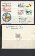 DDR - RECO-Beleg Mi-Nr. 1444 - 1447 Sicherheit Im Straßenverkehr (2) - [6] République Démocratique