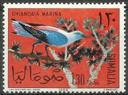 Somalia - 1966 Birds (European Roller)1s30 MNH **        SG 439  Sc 290 - Somalia (1960-...)