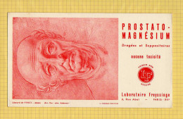 BUVARD : PHARMACIE PROSTATO MAGNESIUM Leonard De Vinci Laboratoire Freyssinge - Droguerías