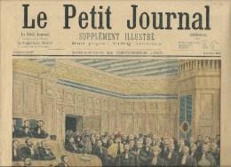 LE PETIT JOURNAL Supllément Illustré Du 23 Décembre 1900 - LA PREMIERE FEMME AVOCAT - Journaux - Quotidiens