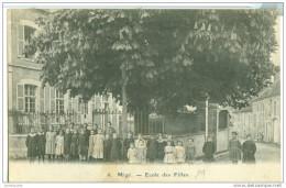 89 YONNE BOURGOGNE  MIGE COULANGE LA VINEUSE ENSEIGNEMENT ECOLE DES FILLES 2 SCANS - Other Municipalities