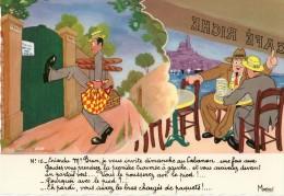 HUMOUR MARSEILLAIS  16 MARIUS MONSIEUR BRUN CABANON  ILLUSTRATEUR FERNAND BOURGEOIS  EDIT. MIREILLE - Humour