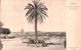 ITALIE ROMA GIARDINO PUBBLICO DEL PINCIO CARTE PRECURSEUR PAS CIRCULEE - Parks & Gardens