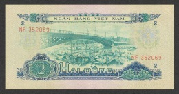 Vietnam South 2 Dong 1966(1975) Pick 41 XF/aUNC - Vietnam