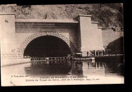13 MARSEILLE Estaque, Canal De Rove, Entrée, Ed Tardy, 1922 - L'Estaque