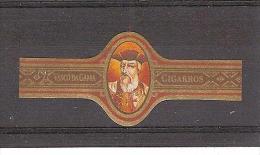 """BAGUE DE CIGARE VASCO DA GAMA """"Cigarros"""" /5.2 Cm X 2,2 Cm //  Scan Non Contractuel 13 Exemplaires Propres - Cigar Bands"""