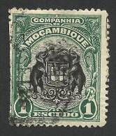 Mozambique Company, 1 E. 1918, Scott # 142, Used. - Mozambique