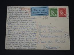 FINLANDE - Lettre Pour La France Par Avion - Détaillons Collection -  Lot N° 5411 - Finland