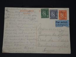 FINLANDE - Lettre Pour La France Par Avion - Détaillons Collection -  Lot N° 5416 - Finland