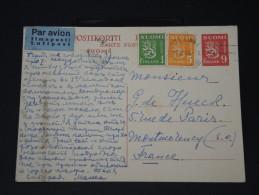 FINLANDE - Lettre Pour La France Par Avion - Détaillons Collection -  Lot N° 5418 - Finland