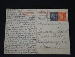 FINLANDE - Lettre Pour La France Par Avion - Détaillons Collection -  Lot N° 5420 - Finland