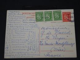 FINLANDE - Lettre Pour La France Par Avion - Détaillons Collection -  Lot N° 5421 - Finland