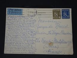 FINLANDE - Lettre Pour La France Par Avion - Détaillons Collection -  Lot N° 5422 - Finland