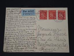 FINLANDE - Lettre Pour La France Par Avion - Détaillons Collection -  Lot N° 5423 - Finland