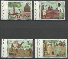 SOMALIA - 1966 Garesa Museum Paintings Set Of 4 MNH **        SG 444-7  Sc 295-8 - Somalia (1960-...)