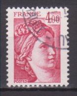 FRANCE / 1981 / Y&T N° 2122 : Sabine 4F - Choisi - Cachet Rond - Frankreich