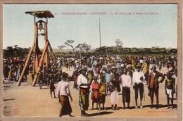CONGO FRANCAIS - KINDAMBA - MISSION CATHOLIQUE - 31 - MARCHE APRES LA MESSE - CLOCHE - Collection Guichard - French Congo - Other