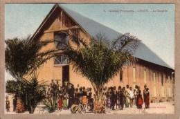 CONGO FRANCAIS - KINDAMBA - MISSION CATHOLIQUE - 6 - LEKETI - LA CHAPELLE - Collection Guichard - Französisch-Kongo - Sonstige