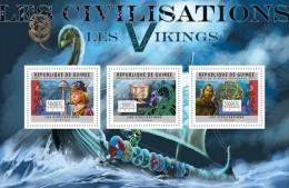 Guinea 2011, Vikings, Ships, 3val In BF - Geschiedenis