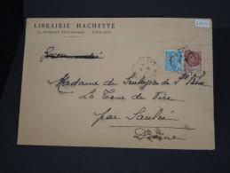 """FRANCE- DETAILLONS COLLECTION   PERFORATION  """"LH"""" SUR PETAIN/MERCURE   SUR LETTRE COMMERCIALE  LOT 4888 - France"""