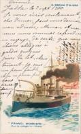 NAVE DA GUERRA FRAN. MOROSINI 1900 - Guerra