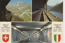 Tunnel  Du Grand St Bernard - Unclassified
