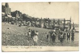 Carte Vue Le Havre - Armée Belge - PMB / BLP 4 Daté 17 I 19 - ACMA Ste Adresse - WW I