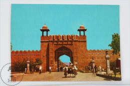 India Postcard - Jaipur - Picturesque City Gate - Indien