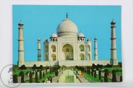 India Postcard - Taj Mahal Agra - India
