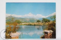 Nepal Postcard - Mountain Machhapuchare - Nepal