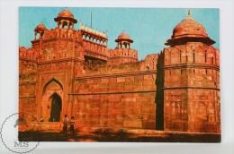 India Postcard - Red Fort, Delhi - India