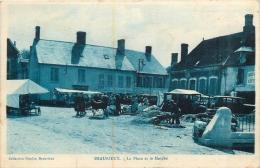 BEAURIEUX LA PLACE ET LE MARCHE - France