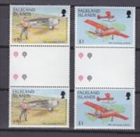 Falkland Islands 1998 Figas (Falkland Islands Government Air Service) 2v  Gutter** Mnh (20629) - Falklandeilanden