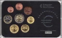 Blister Litauen EURO-Einführung 2015 Stg 30€ Stempelglanz Staatliche Münze Vilnius Set 1C-2€ Coins Republik Of Lithuiana - EURO