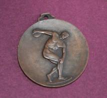 Medaglia Sport Discòbol - Giochi Del 25 Aprilie UISP Roma 1979 - Atletica