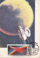 SPACE  Station VENUS 4 -    Russia Maxi Card - Carte Maximum - Rusland En USSR