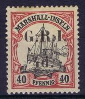 DR Marshall-Inseln:  Britische Besetzung GRI / G.R.I. Mi Nr  7 II     5 Mm  MH/*   Cat Value 1800 Euro - Kolonie: Marshall-Inseln