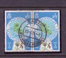 NOUVELLES-HEBRIDES 1977/78 PAIRE    YVERT N°495 NEUF MNH** - Franse Legende