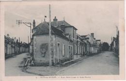 N°9  -  DUN-sur-AURON   -  RUE ST COME  ET  ST MARTIN - Dun-sur-Auron