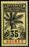 Guinée (1906) N 41 * (charniere) - Non Classés
