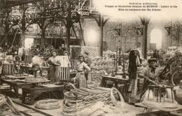 08  MOHON       Clouteries Réunies            Mise En Rouleaux  Des Fils D' Acier - Andere Gemeenten