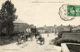 08  HAUVINE             Entrée Du Pays Par Machault - France