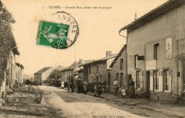 08  TERMES           Grande Rue Allant Vers Granpré - Andere Gemeenten