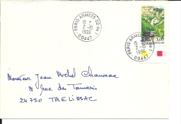 Lettre FRANCE, Yvert N° 3017 LSI Du 1/7/96 Au 114/97 = 285 Jours - France