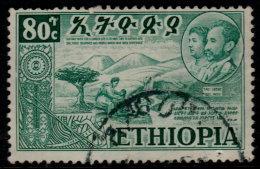 ~~~ Ethiopie 1952  - Eritrea Et Ethiopie - Mi. 323 (o) - Cote 4.50 Euro ~~~ - Äthiopien